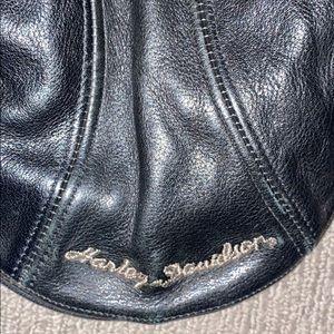 Harley-Davidson Accessories - Vintage Leather Harley Davidson cabbie hat